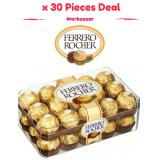 Deals For Ferrero Rocher T30 30 Pieces Box 375G