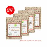 Brand New Fresh Rice Organic Mixed Brown Rice 1Kg X 4 Packs