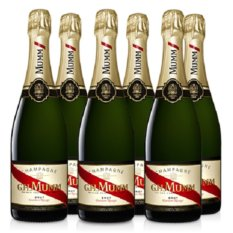 Gh Mumm Cordon Rouge Champagne Nv 750ml X 6 Bottles By C&c Drinks Shop - Three Kraters.
