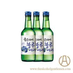 Good Day Blue Berry Soju (3 Bottles X 360ml) By The Alcohol Gentlemen.