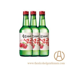 Good Day Pomegranate Soju (3 Bottles X 360ml) By The Alcohol Gentlemen.