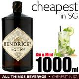 Sale Hendricks Gin 1000Ml Cheapest In Sg On Singapore