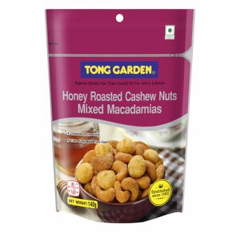 Honey Roasted Cashew Mix Macadamia 140g (Bundle of 2)