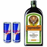 The Cheapest Jagermeister Herbal Liqueur 70Cl Free 2Xred Bull Cans Online