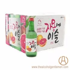 Jinro Chamisul Grapefruit Soju (20 Bottle X 360ml) By The Alcohol Gentlemen.
