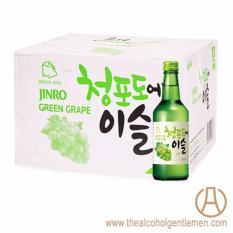 Jinro Chamisul Green Grape Soju (20 Bottle X 360ml) By The Alcohol Gentlemen