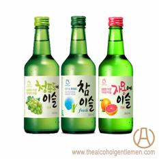 Jinro Chamisul Mix & Match Soju (3 Bottle X 360ml) By The Alcohol Gentlemen.
