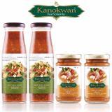 Buy Kanokwan Holy Basil Sauce 7 05Oz Tom Yum Paste 4Oz Combo Set 4Bottles On Singapore