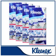 Price Kleenex 3 Ply F*C**L Tissue Floral 5X100Sheets X 4 On Singapore