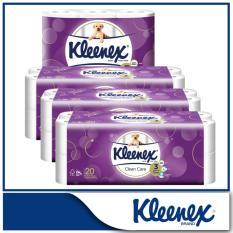 Deals For Kleenex Clean Care Bath Tissue 10X200Sheets X 3 6X160Sheets