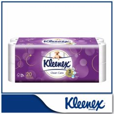 Coupon Kleenex Clean Care Bath Tissue 20X200Sheets