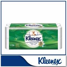 Buy Kleenex Clean Care Bath Tissue Aloe Vera 20X200Sheets Online Singapore