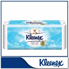 Cheapest Kleenex Clean Care Bath Tissue Fresh Scent 20X200Sheets