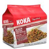 Sale Koka Signature Black Pepper Fried Noodles 12 X 5 Packs Koka Online