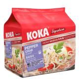 Shop For Koka Signature Pepper Crab Noodles 12 X 5 Packs