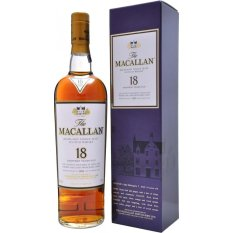 Macallan 18 Yo Sherry Oak 70Cl Free Shipping