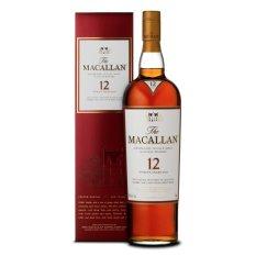 Macallan Sherry Oak 12Yo Single Malt Whisky 70Cl With Box Macallan Discount
