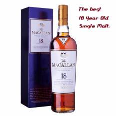 Price Macallan 18Yo Sherry Oak Single Malt 70Cl Latest W Box Online Singapore