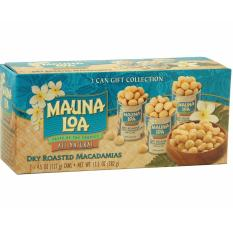 Coupon Hawaii Mauna Loa Macadamia Nut Dry Roasted With Sea Salt 3 Can Gift Collection