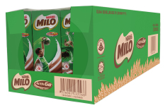 MILO UHT Chocolate Malt Packet Drink 24x200ml