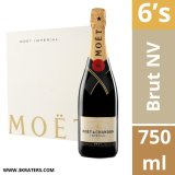 Lowest Price Moet Imperial Brut Nv 750Ml X 6 Bottles With Gift Box