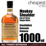 Price Compare Monkey Shoulder Batch 27 Speyside Blended Scotch Whisky 1000Ml Cheapest In Sg