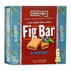 Natures Bakery Blueberry Fig Bar By Wholesome Harvest.