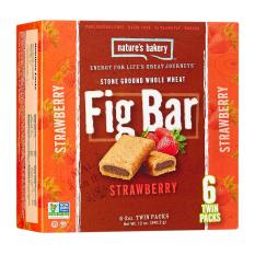 Natures Bakery Strawberry Fig Bar By Wholesome Harvest.