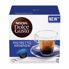 Best Reviews Of Nescafe® Dolce Gusto® Ristretto Ardenza Coffee 16 Capsules Per Box