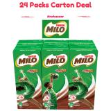 Price Nestle Milo Uht Chocolate Malt Packet Drink 4 X 6 Packs 200Ml Carton Deal Singapore