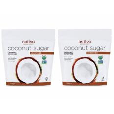 Nutiva, Organic Coconut Sugar, 454g - 2 Qty Pack By My Tea Import Store.