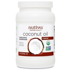Nutiva Organic Virgin Coconut Oil 444ml By Juchiroewithlove.