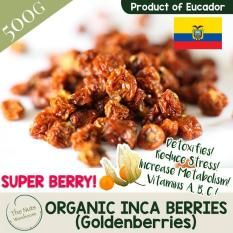 Organic Incaberries 500g By Love Live Crunch Be Nutty!.