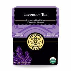 Organic Lavender Herbal Tea 18 Bags On Singapore