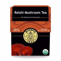 Price Organic Reishi Mushroom Herbal Tea 18 Bags Singapore
