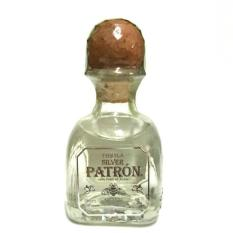 Patron Silver Tequila 50ml Miniature By Mini Collector