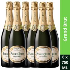 Buy Perrier Jouet Grand Brut Nv 750Ml Case Of 6 Bottles Perrier Jouet Cheap