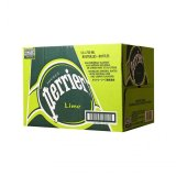 Buy Cheap Perrier Lime Sparkling Mineral Water 12 X 750Ml