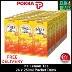 Price Pokka 24 X 250Ml Packets Cartons Ice Lemon Tea Pokka