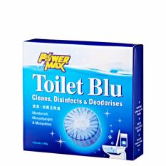 [powermax] Toilet Blu (80g X 3) - 2 Boxes By Mt Picturebox.