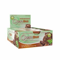 Quest Nutrition Bars (chocolate Mint) Box Of 12 By The Fitness Grocer.