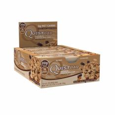 Quest Nutrition Bars (oatmeal Chocolate Chip) Box Of 12 By The Fitness Grocer.