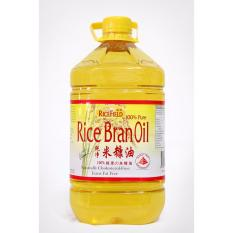 Retail Price Ricefield Rice Bran Cooking Oil 5L