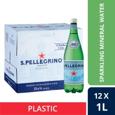 San Pellegrino Sparkling Natural Mineral Water 1L Plastic Bottle Case Of 12 Lowest Price