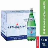 Price Comparisons San Pellegrino Sparkling Natural Mineral Water 1L Plastic Bottle Case Of 12