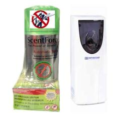 Scent Force Automatic Air Freshener & Mosquito Repellent Spray 300ml Bundle W/ Supersteam Automatic Air Freshener [4170-000004] By Hardwarecity Online Store.