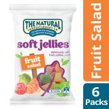 The Natural Confectionery Co Jelly Fruit Salad Pack Of 6 240G Each Best Buy
