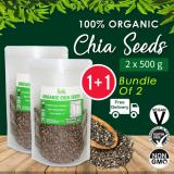 Retail Price ☆ Value Bundle 1 1 ☆ Organic Chia Seeds 500G X2