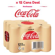 Where Can I Buy Vanilla Coke X 12 Cans Deal 320Ml Coca Cola
