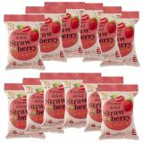 Cheaper Wel B Freeze Dried Party Fruit Snacks Strawberry Flavour 12 Pack Bundle